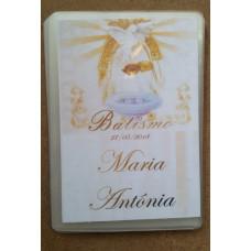 kit 10 Cartões plastificados personalizado lembrança/oração